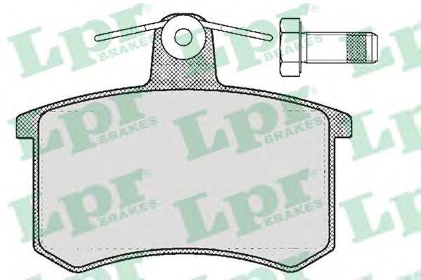 Колодки тормозные LPR 05P215