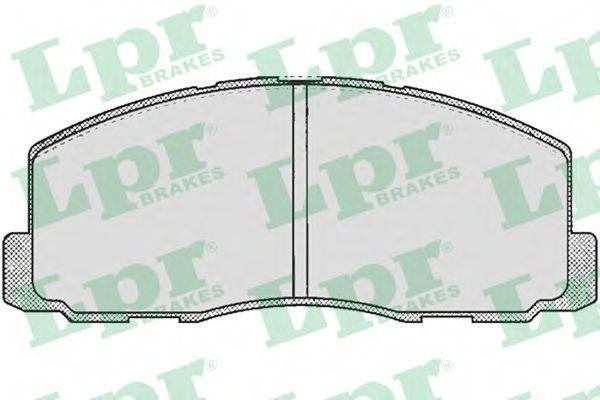 Колодки тормозные LPR 05P260