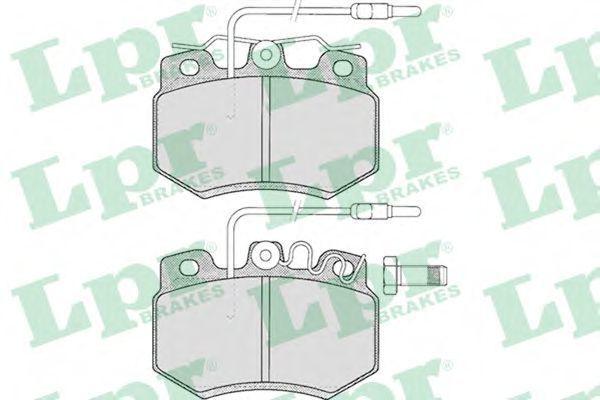 Колодки тормозные LPR 05P274