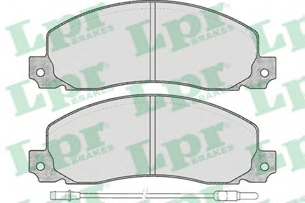 Колодки тормозные LPR 05P278