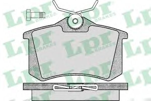 Колодки тормозные LPR 05P294