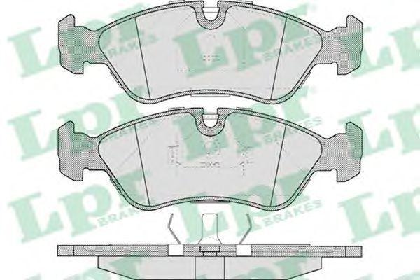 Колодки тормозные LPR 05P304