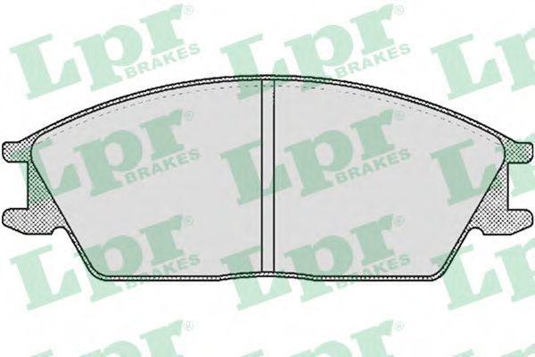 Колодки тормозные LPR 05P364