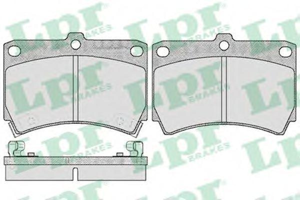 Колодки тормозные LPR 05P366