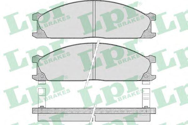 Колодки тормозные LPR 05P378