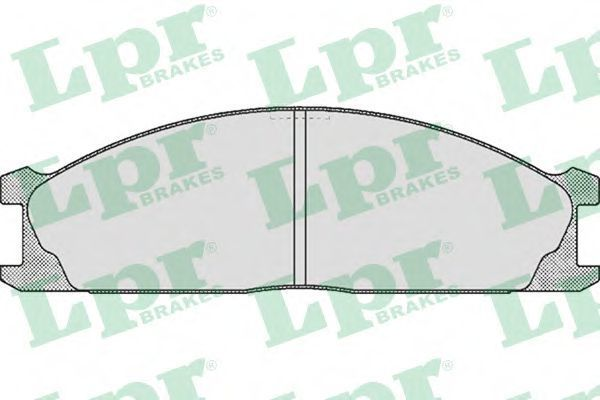 Колодки тормозные LPR 05P379