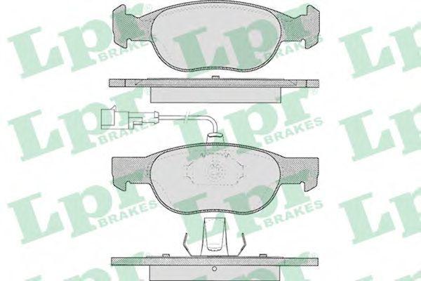 Колодки тормозные LPR 05P424