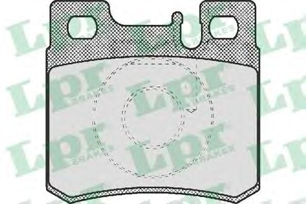 Купить Колодки тормозные LPR 05P428