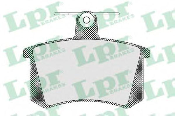 Колодки тормозные LPR 05P440