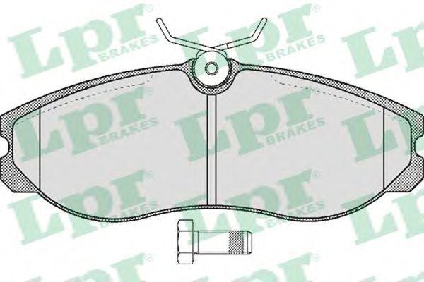 Колодки тормозные LPR 05P470