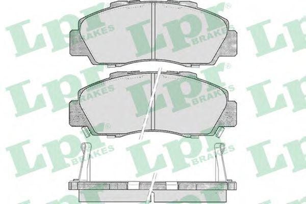 Колодки тормозные LPR 05P472