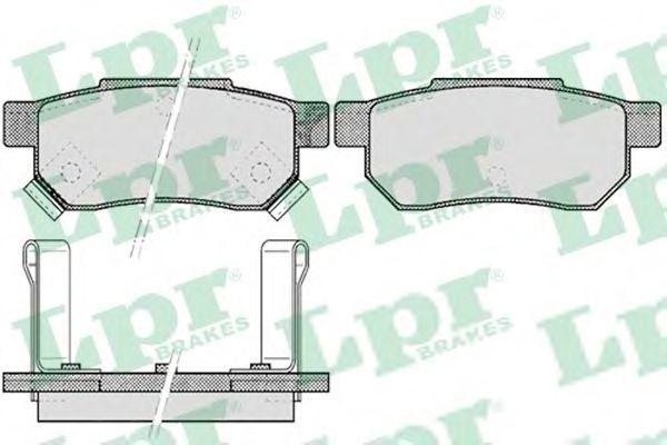 Колодки тормозные LPR 05P506