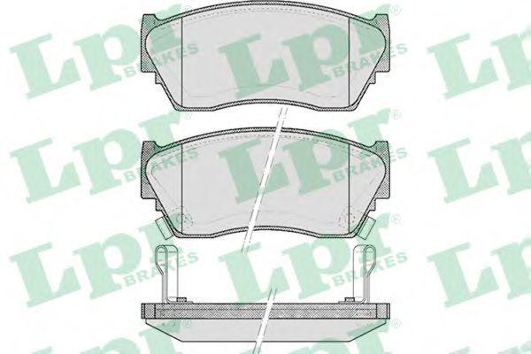 Колодки тормозные LPR 05P520
