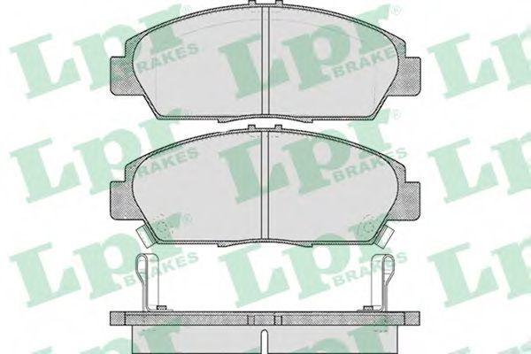 Колодки тормозные LPR 05P567
