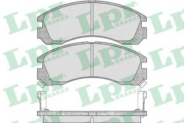 Колодки тормозные LPR 05P578