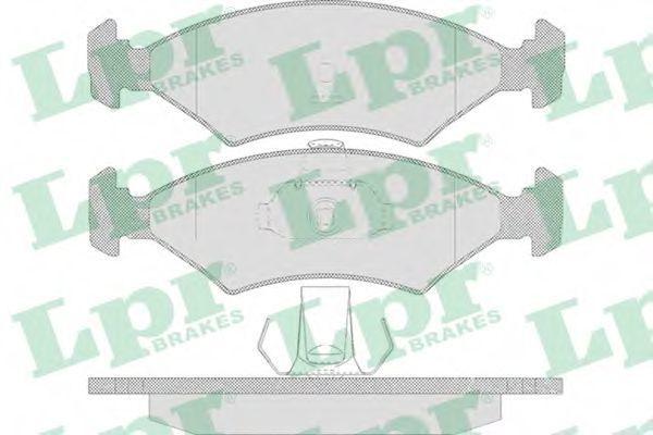 Колодки тормозные LPR 05P628