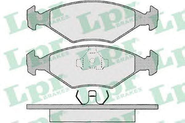 Колодки тормозные LPR 05P679