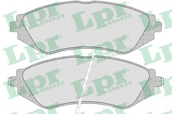 Колодки тормозные передние LPR 05P682