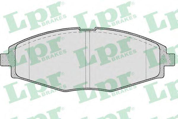 Колодки тормозные LPR 05P693