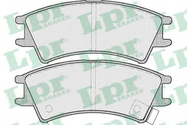 Колодки тормозные LPR 05P695