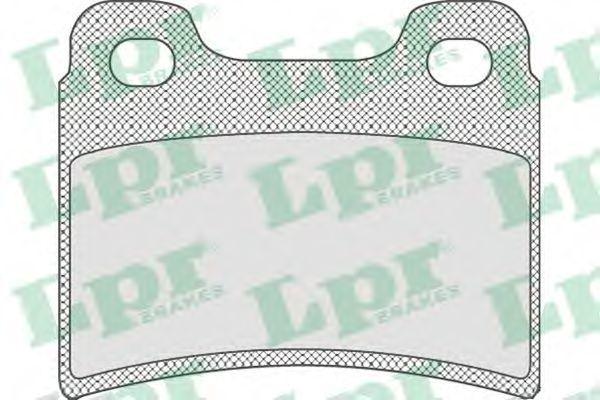 Колодки тормозные LPR 05P747