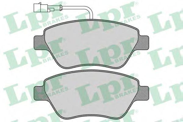Колодки тормозные LPR 05P763