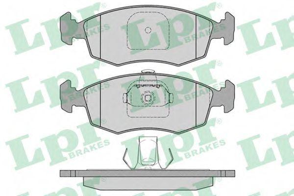 Колодки тормозные LPR 05P785