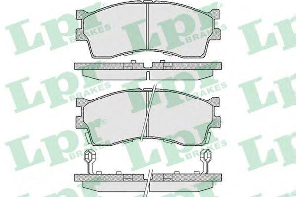 Колодки тормозные LPR 05P809