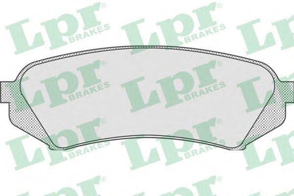 Колодки тормозные LPR 05P835