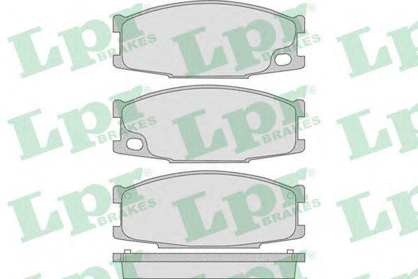 Колодки тормозные LPR 05P892