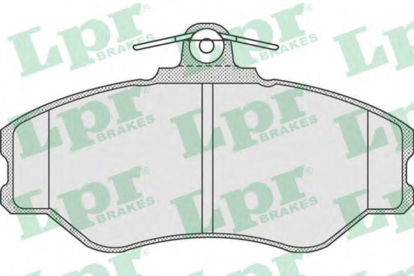 Колодки тормозные LPR 05P920