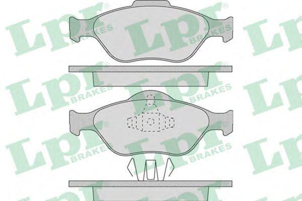 Колодки тормозные LPR 05P949