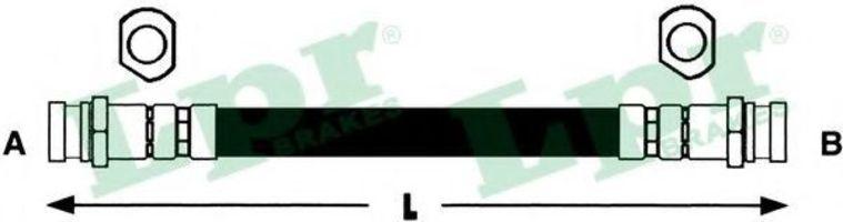 Шланг тормозной LPR 6T46282