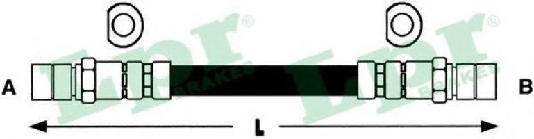Шланг гальмівний LPR 6T46118
