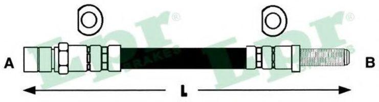 Шланг тормозной LPR 6T46206