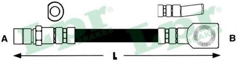 Шланг гальмівний LPR 6T46159