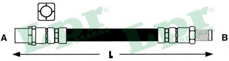 Шланг тормозной LPR 6T47860