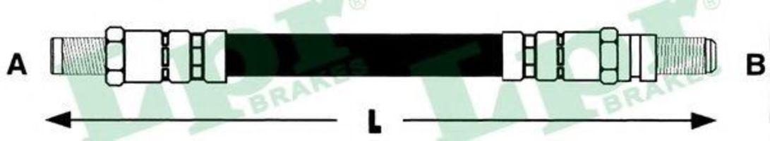 Шланг тормозной LPR 6T46115