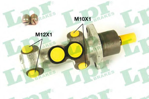 Цилиндр тормозной рабочий LPR 1235