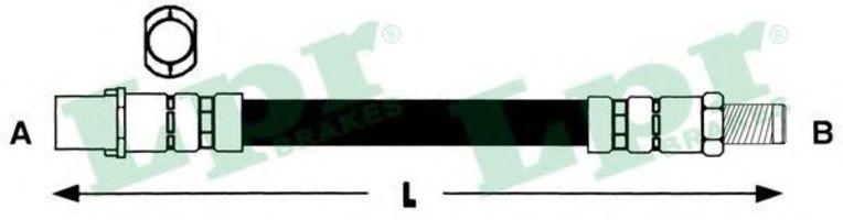 Шланг тормозной LPR 6T46315