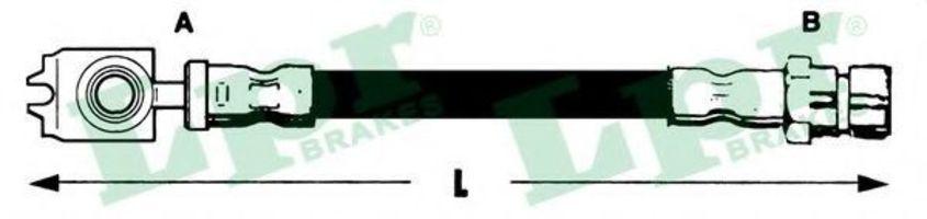 Шланг тормозной LPR 6T48317