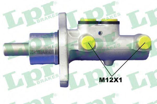 Цилиндр тормозной главный LPR 1697