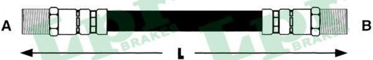 Тормозной шланг SAMKO 6T46173