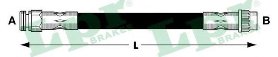 Шланг тормозной LPR 6T47837