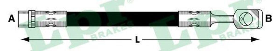 Шланг тормозной LPR 6T47841