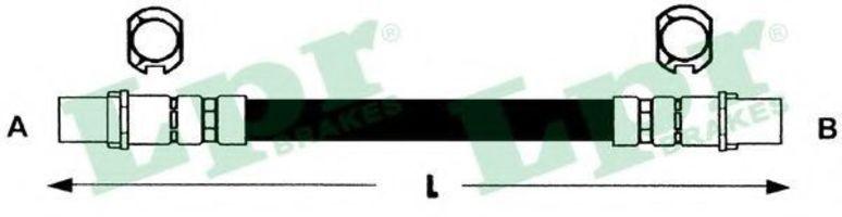 Шланг тормозной LPR 6T46778