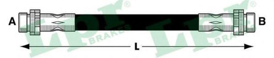 Шланг тормозной LPR 6T47685