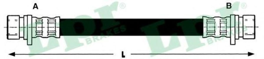Шланг тормозной LPR 6T46649