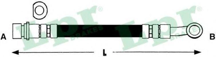 Купить Шланг тормозной LPR 6T48265