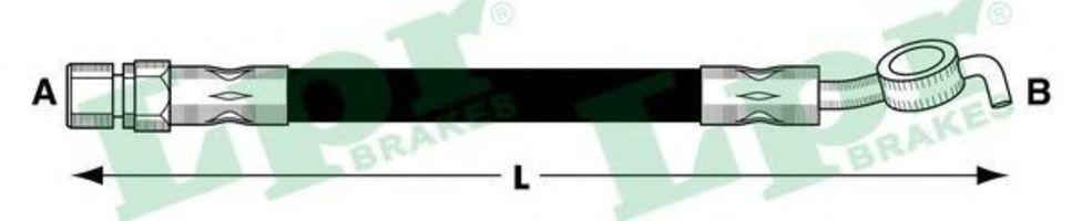 Шланг тормозной LPR 6T48049